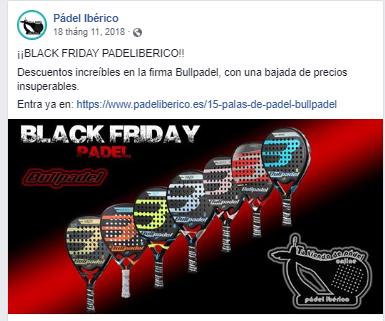 Black Friday en Pádel Ibérico